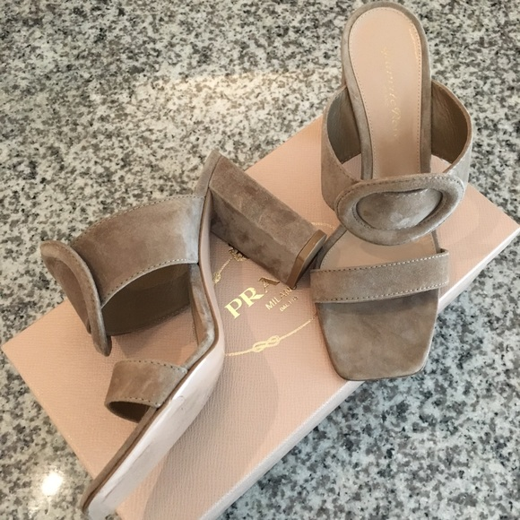 1f68652072 Gianvito Rossi Shoes | 85mm Suede Slide Sandals | Poshmark